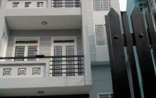 Nhà 1t3l mới xây 100% MT đường, nở hậu, 60m2, Bình Tân