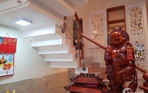 Chính chủ bán nhà biệt thự  đường Nguyễn Hữu Trí, Bình Tân, 110m2, sổ riêng