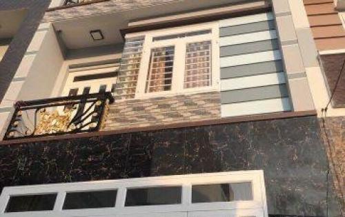 Bán nhà mới xây 1t3l 2MT, sổ hồng riêng, Bình Tân