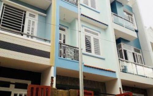 Bán nhà hẻm Tân Kì Tân Quý Quận Bình Tân 1 trệt 2 lầu sân thượng shr 75m2