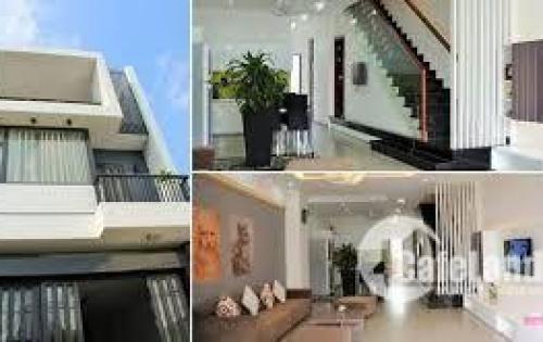Bán nhà hẻm Tân Kì Tân Quý Quận Bình Tân 1 trệt 2 lầu sân thượng shr 110m2