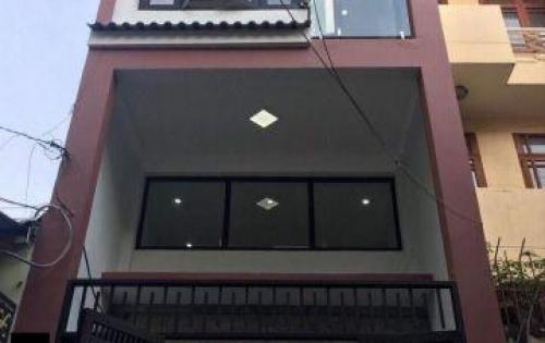 Nhà lầu mặt tiền hẻm tân kỳ tân quý- bình tân, shr cc 75m2