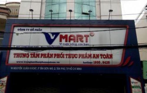 Bán nhà MTKD Nguyễn Xuân Khoát P. Tân Thành 8x23 đúc 3 lầu giá 21 tỷ