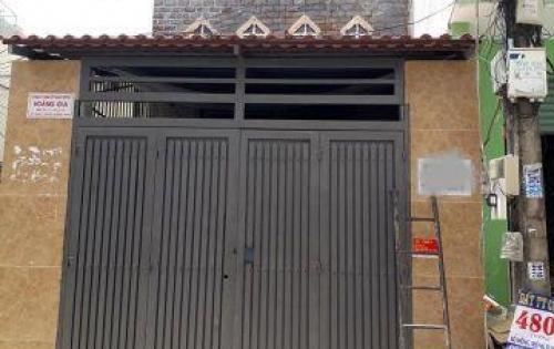 Nhà hẻm 6m Đường Tân Quý Quận Tân Phú dt 4 x 16 giá bán 5,2 tỷ