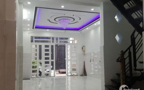 Nhà hẻm 4m Đường Nguyễn Suý Quận tân Phú dt 4 x 10 nhà 1 lầu BTCT bán giá 3,65 tỷ