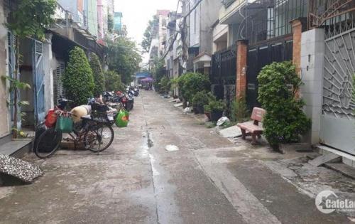 Nhà hẻm 5m thông Đường Tân Quý Quận Tân Phú dt 4 x 10 nhà 1 lầu giá bán 3,7 tỷ TL