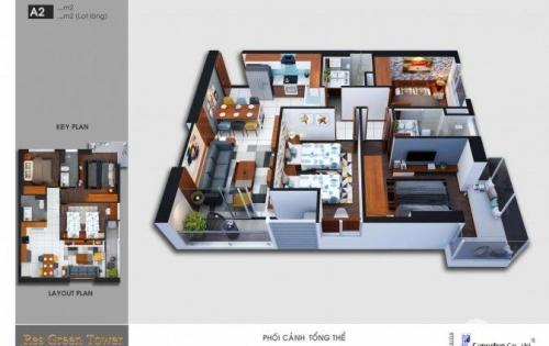 Căn hộ Res Green Tower 3PN, nội thất cao cấp, sang trọng ở nhà như ở khách sạn 5 sao