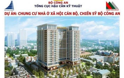 Chung cư tâm điểm Quận Thanh Xuân , Giá chỉ từ 20tr/1m2 căn hộ 2 PN dt 64m2