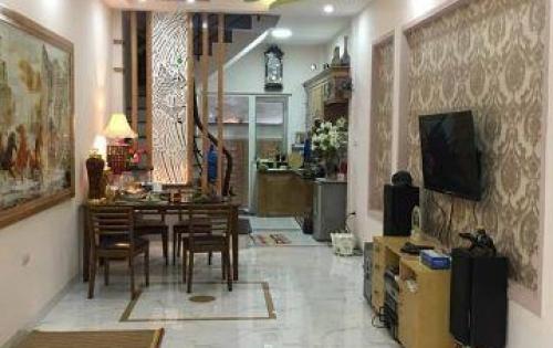 Nhà đẹp ở luôn phố Nguyễn Lân, PHÂN LÔ - MẶT NGÕ 4M, 33m2*5 Tầng, 3.4 TỶ.
