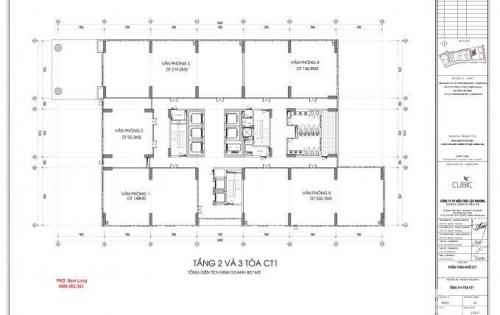 Bán sàn TM tầng 1,2,3 tòa CT1 chung cư 43 Phạm Văn Đồng: 0986862363