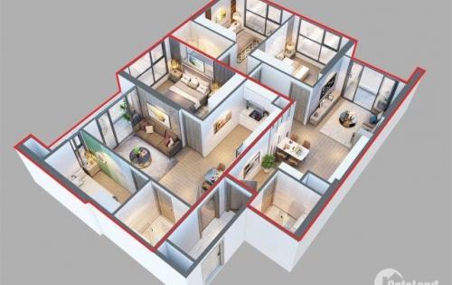 Chung cư Đỗ Đức Dục (W33011) 42tr/m2 109.3m2 full nội thất, căn duy nhất cửa Đông Nam, 0971268778