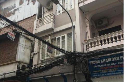 Cho thuê nhà 40m2 x 5T ngõ 62 Nguyên Hồng-17tr