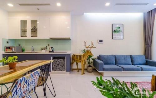 Tìm khách thiện chí thuê CH 1PN full nội thất cao cấp tại Vinhomes Tân Cảng giá tốt 17,5tr/tháng ( bao thuế phí) LH 0931467772