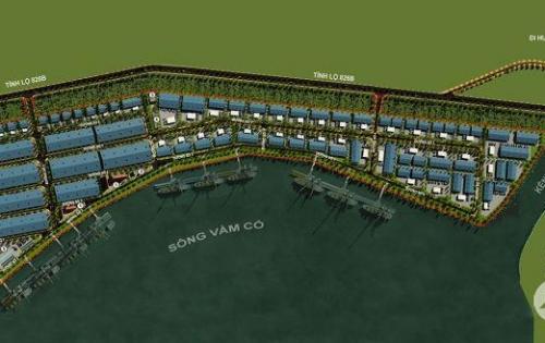 Cho thuê đất xây nhà xưởng, kho bãi, có cảng thủy nội địa, chỉ cách cảng Quốc tế Long An 19km
