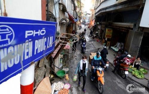 Nhà mặt phố Nguyễn Phúc Lai cho thuê làm văn phòng,giá 1000USD