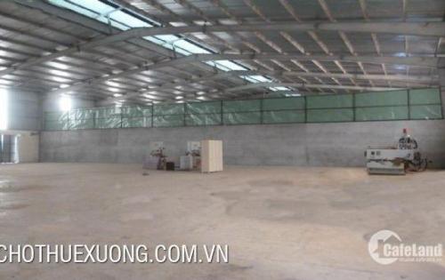 Cho thuê kho xưởng chính chủ tại KĐT Thanh Hà Hà đông hà nội giá rẻ