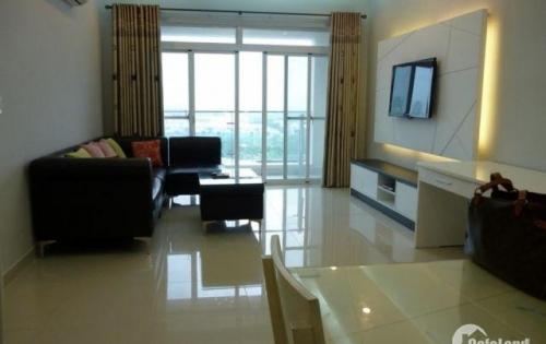 Cho thuê căn hộ Phú Hoàng Anh 2 phòng ,có máy lạnh ,giá 8,5tr/tháng .Lh 0909802822
