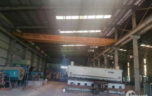 Cho thuê xưởng tại KCN Lai Vu, Kim Thành, Hải Dương 5050m, 11100m, điện 1200KVA