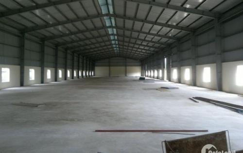 kho xưởng cho thuê 8m*40m, container đi, đường thạnh xuân 22