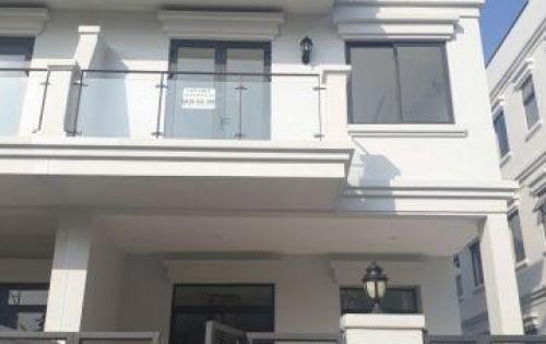 Cho thuê nhà phố Lakeview City, dt 8x20 trệt 3 lầu, hoàn thiện nội thất, mặt đường 20m