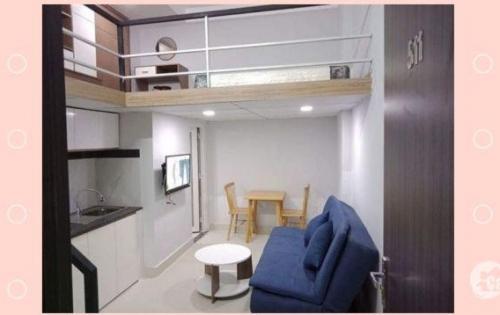 cho thuê căn hộ dịch vụ 29m2, full nội thất, Cao Cấp chỉ 6tr9/tháng, Q4 gần Q7 HCM