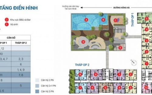 Bán căn hộ cao cấp, dt 83m2, 2+1pn - orchard Parkview