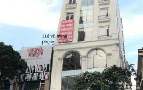 Chính chủ cần cho thuê gấp tầng 1 tòa nhà 116 vũ trọng phụng –thanh xuân