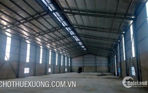 Chính chủ cho thuê nhà xưởng tiêu chuẩn tại Thuận Thành Bắc ninh DT 1890m2