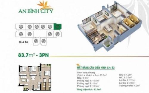 Chính chủ cho thuê căn A5-1012 An Bình City đầy đủ nội thất từ A-Z giá chỉ 8tr lh ngay 0986710192