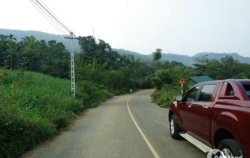 Bán 2 lô mặt đường nhựa tại xã Vân Hòa, Ba Vì, Hà Nội, tiện để ở, kinh doanh
