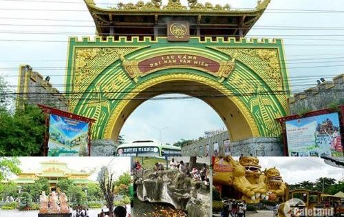 Bán đất khu du lịch Đại Nam Văn Hiến , giá  850 triệu  ( diện tích 5x20 )