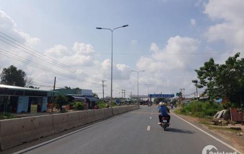 Chỉ 900 triệu sở hữu ngay một lô đất mặt tiền thị trấn Đức Hòa Long An