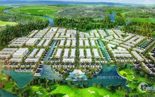 Đất nền nhà phố biệt thự 3 mặt giáp sông giá chỉ 11 triệu/m2