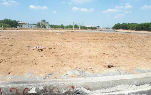 Đất sổ đỏ thổ cư 100% vòng xoay 60m Biên Hòa, đường 60m, Gần KCN 450tr