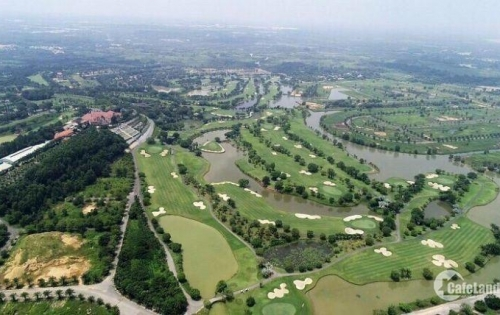 Đất nền sổ đỏ trong sân Golf Long Thành, TP Biên Hòa