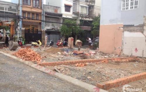 Bán đất thổ cư hẻm nhựa 6m, Nguyễn Xí, Bình Thạnh, DT 5x15, Giá 1.3 tỷ