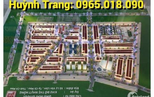 Khu đô thị cao cấp Nhựt Hồng - Quốc lộ 1A, Lý Văn Lâm, TP Cà Mau. LH: 0965.018.090