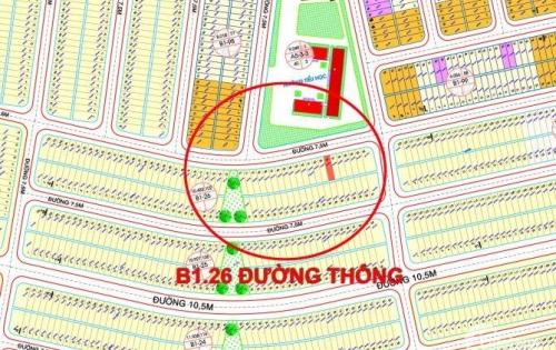 Bán gấp lô đất đối diện trường tiểu học B1.26 trục đường thông dài gần ngã tư thuận tiện kinh doanh