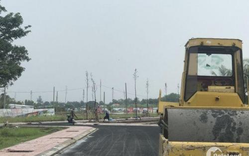 Bán đất sau chợ Bình Chánh 950tr SHR xây tự do 0931743326.