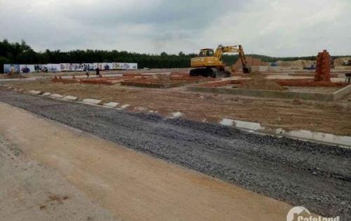 Cần tiền để trả nợ nên bán lô đất dt 291m2 tại Long An, giá 913 triệu, shr