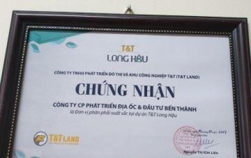 20-10 T&T long hậu mở bán với giá hấp dẫn chỉ 9,5tr/m2 và nhiều ưu đãi cho quý khách
