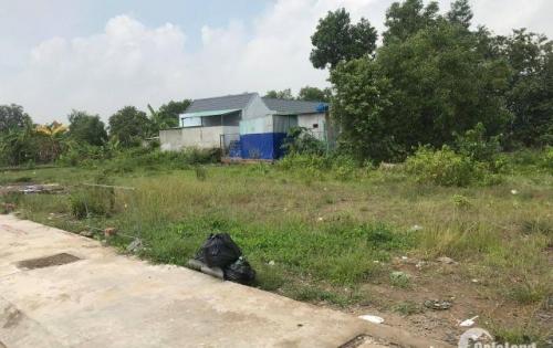 lô đất giá rẻ sau chợ Bình Chánh, shr, 100m2
