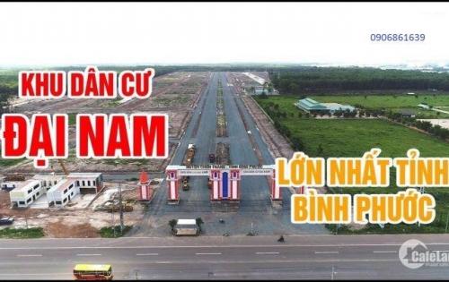 Mở bán KDC Đại Nam - BP, shr, tc100% 6,5tr/m2 LH:0906861639