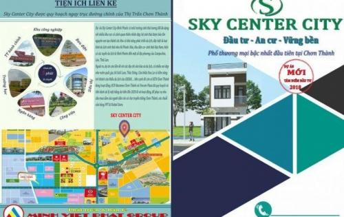Mở Bán Siêu Dự Án Mói Sky Center City Chơn Thành ,Giá Gốc chủ Đầu Tư