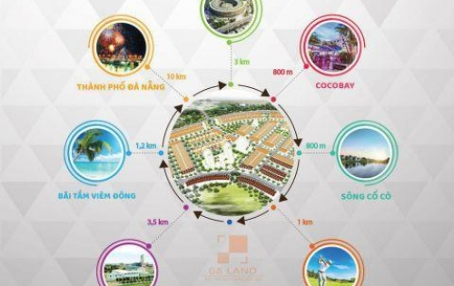Đất đầu tư Gaia city, sát Cocobay, ven sông Cổ Cò