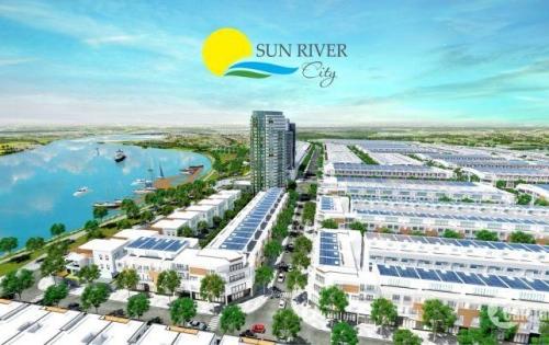 Bán Lô đất sông, kđt Sun River City, đối diện Cocobay, Kề bên KĐT FPT City