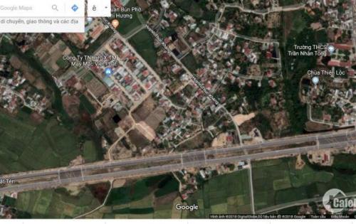 Đất xã phân lô 75m2 Diên Toàn đường Huỳnh Thúc Kháng cách Võ Nguyên Giáp 100m2
