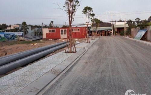Bán đất dự án mới gần KDC Tân Đức, DT: 5X20m, có SHR, giá chỉ: 560 triệu.