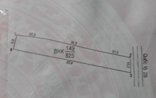 BÁN ĐẤT TẠI XÃ THUẬN HÒA, HÀM THUẬN BẮC, BÌNH THUẬN DIỆN TÍCH 800M2 GIÁ 250 TRIỆU