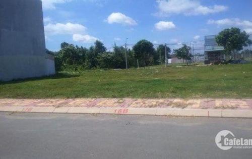 Cần bán lô đất mặt tiền quốc lộ gần khu công nghiệp Tân Kim 6x16m sổ hồng riêng.